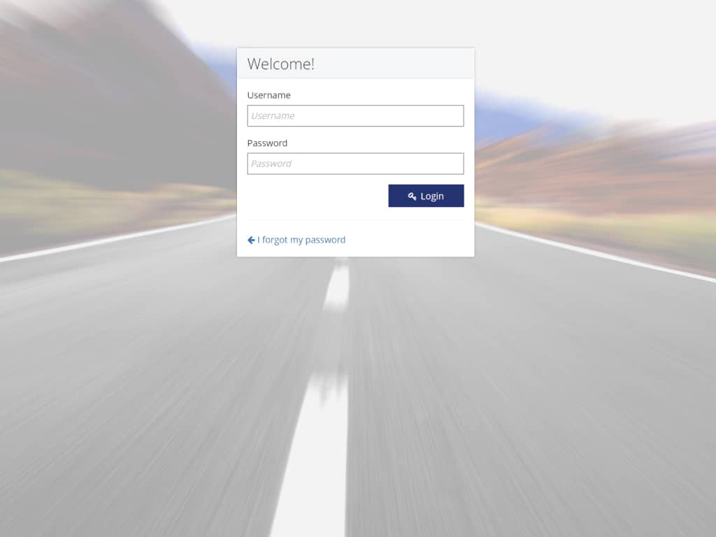 Patient Portal Sample Screen